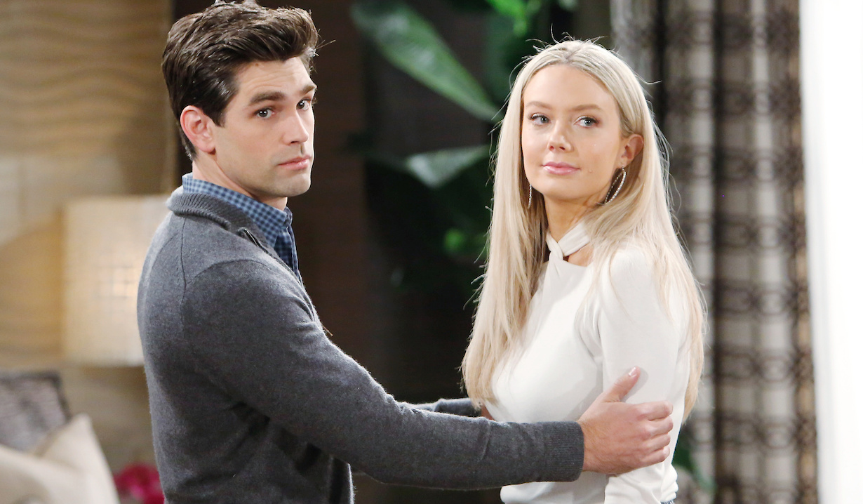 """chance abby Justin Gaston, Melissa Ordway""""The Young and the Restless"""" Set CBS television CityLos Angeles11/04/20© Howard Wise/jpistudios.com310-657-9661Episode # 11997U.S. Airdate 11/24/20"""