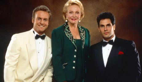 THE YOUNG AND THE RESTLESS, from left: Doug Davidson, Lee Phillip Bell, Don Diamont, 1990s, 1973-,  ph: R. Cartwright /© CBS /Courtesy Everett Collection