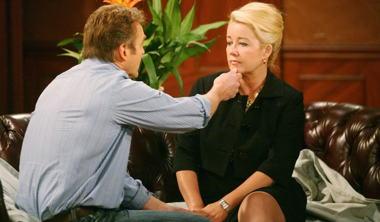 "Melody Thomas Scott, Doug Davidson ""The Young and the Restless"" paul nikki am"