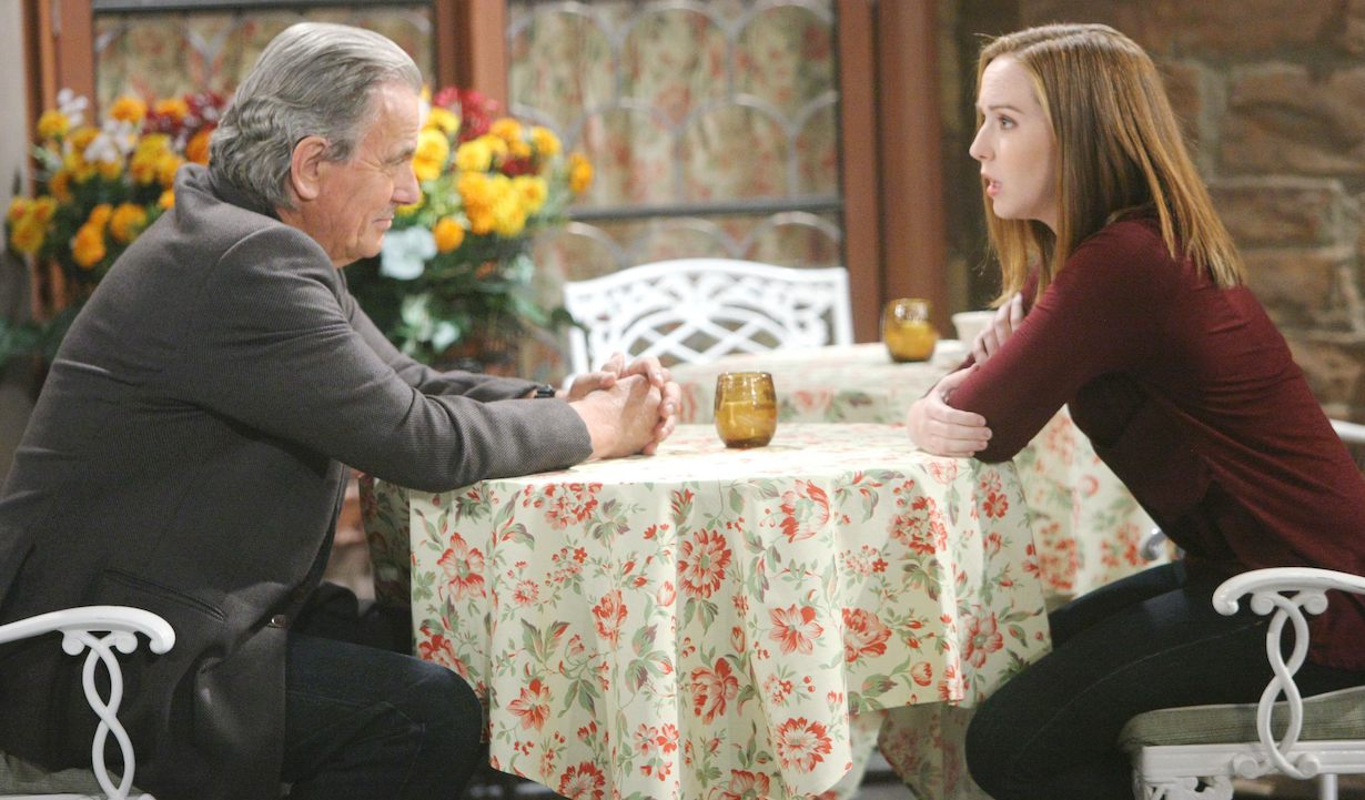 "Camryn Grimes, Eric Braeden ""The Young and the Restless"" victor mariah"