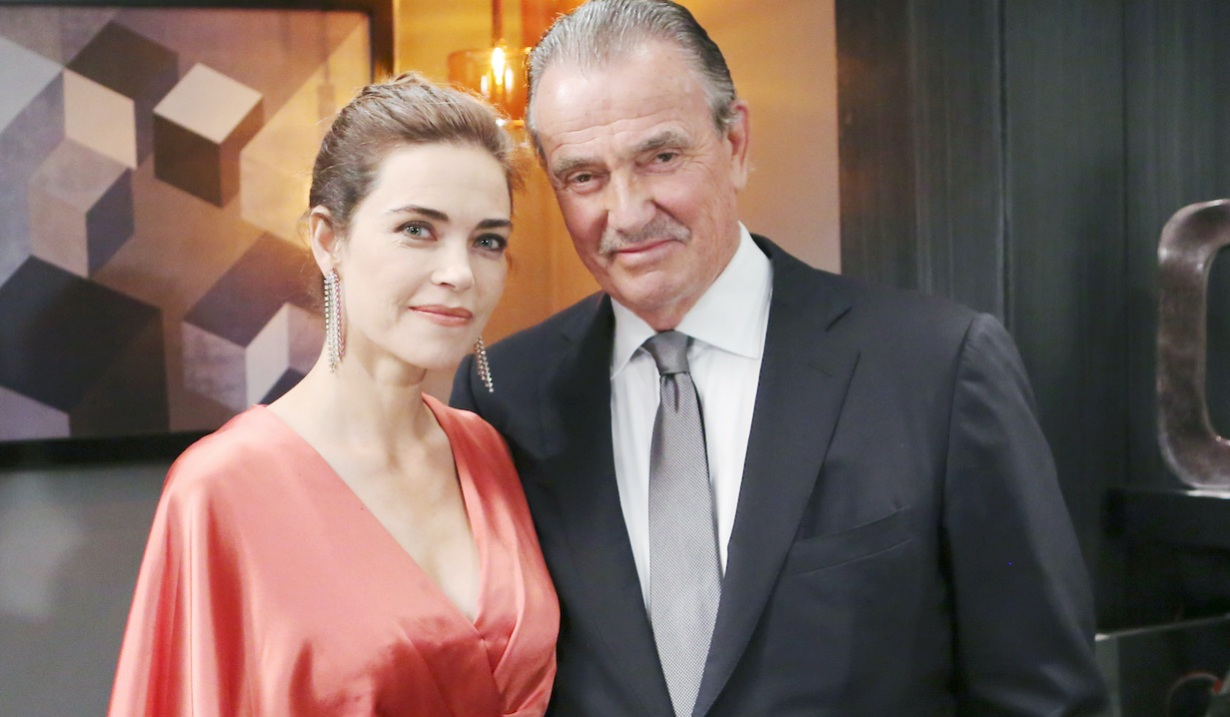 """victor victoria Eric Braeden, Amelia Heinle""""The Young and the Restless"""" Set CBS television CityLos Angeles08/16/18© Howard Wise/jpistudios.com310-657-9661"""