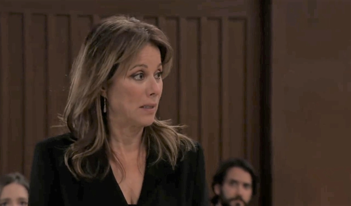 Alexis is willing to accept her punishement in court General Hospital