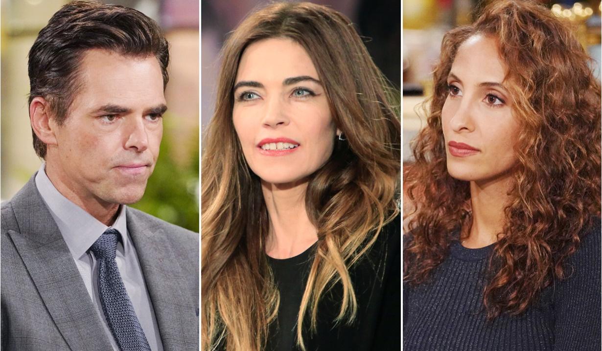 Billy, Victoria, Lily betrayal Y&R