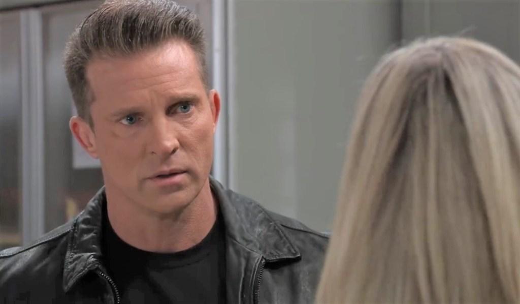 Carly yells at Jason in kitchen General Hospital