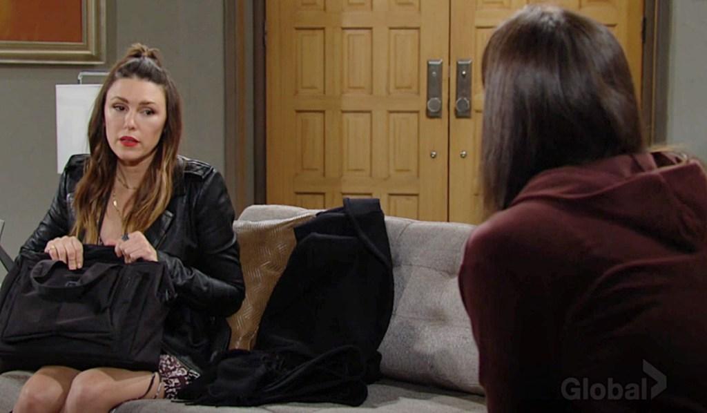 Chloe questions Chelsea Y&R