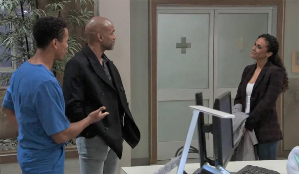 Curtis, TJ and Jordan talk commitment at General Hospital