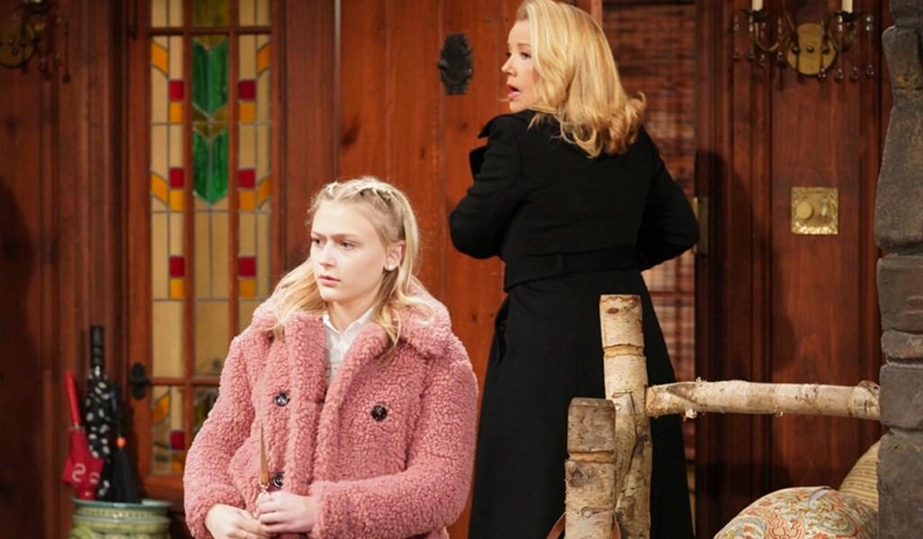 Faith, Nikki arrive to arguing Y&R