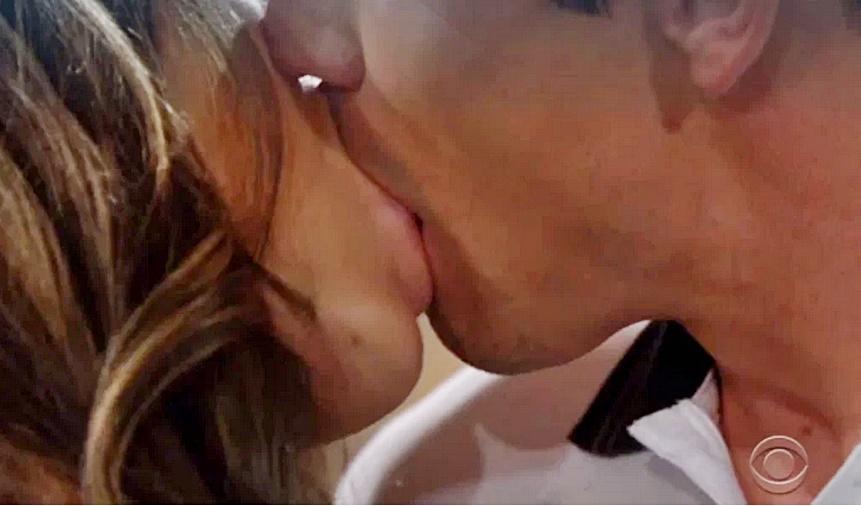Finn, Steffy first kiss B&B