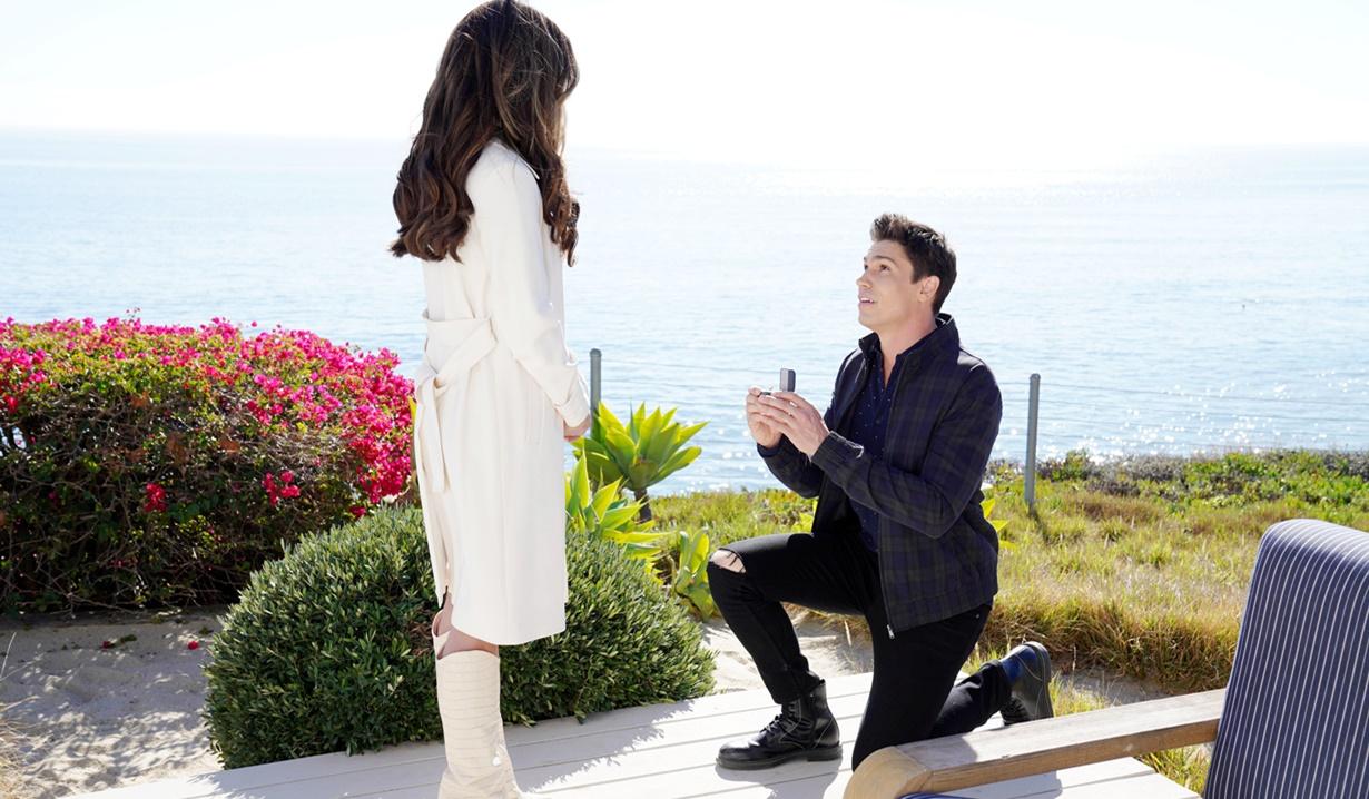 Finn, Steffy first proposal B&B