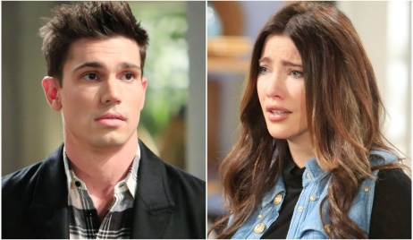 Finn, Steffy revelation B&B