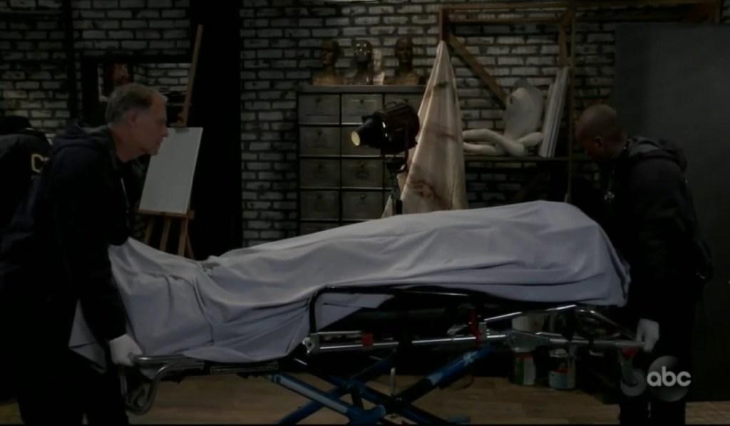 Franco wheeled off dead General Hospital