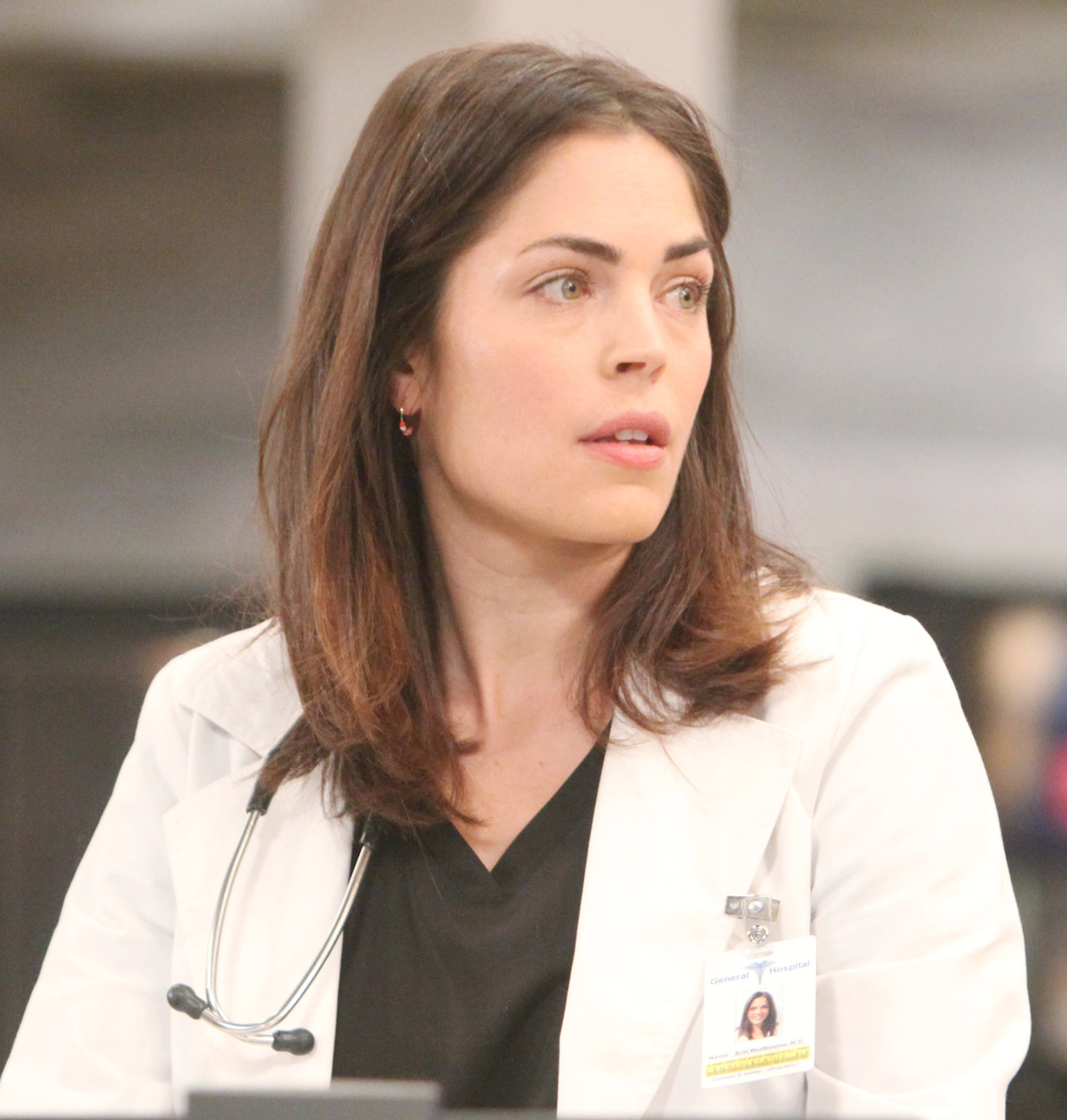 "Kelly Thiebaud ""General Hospital"" Set The Prospect Studios ABC Studios 02/03/19 © Howard Wise/jpistudios.com 310-657-9661 Episode # 14508 U.S. Airdate 03/23/20"