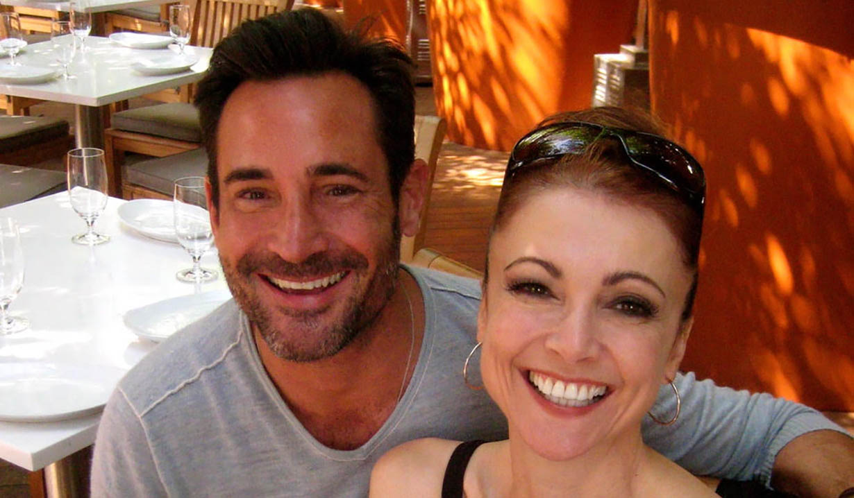 Interview Gregory Zarian with -Emma Samms general hospital