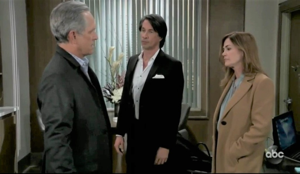 Gregory Finn and Jackie talk DNA at General Hospital