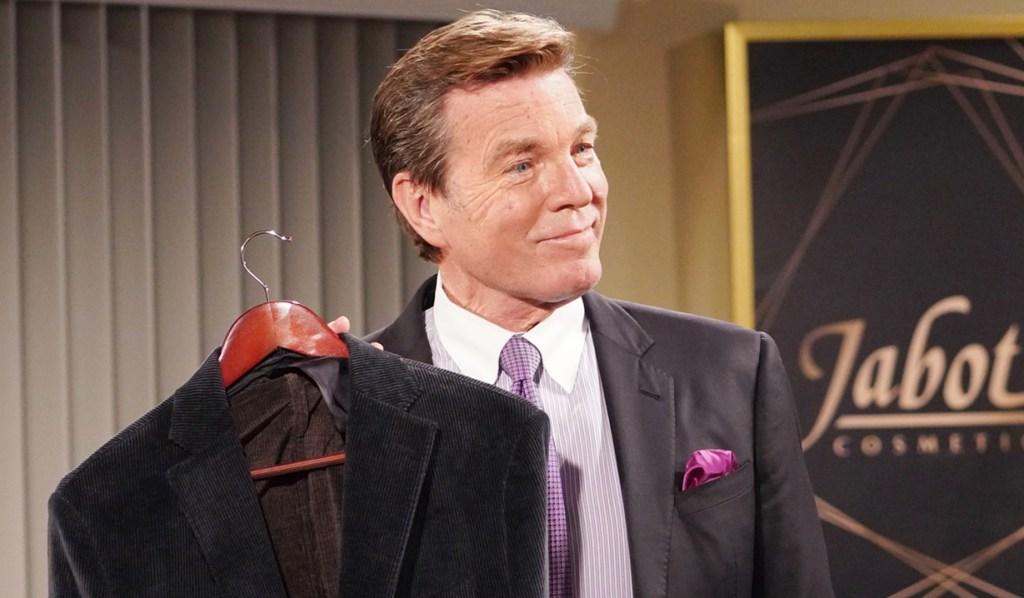 Jack suit surprise Y&R
