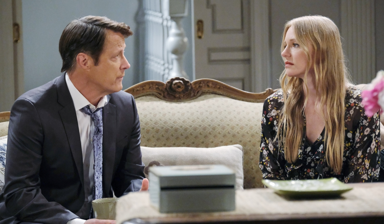 Jack tells Abby he will support Gwen at Horton house Days of our Lives