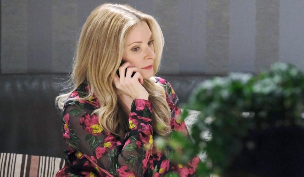 Jenn and Jack talk on the phone Days