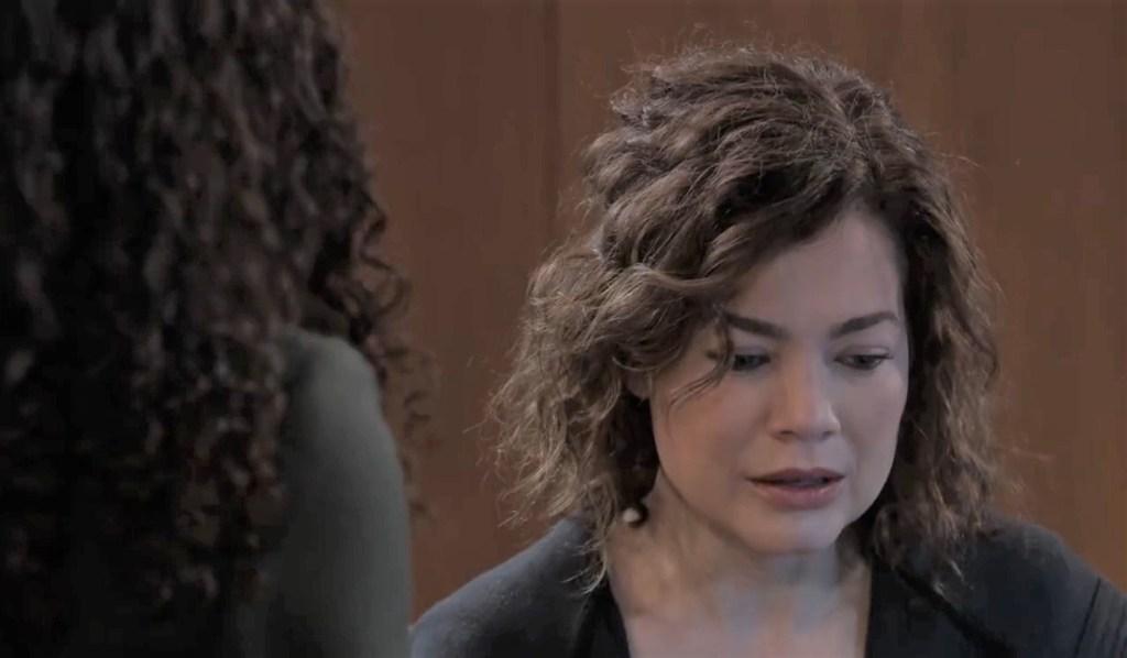 Jordan questions Liz General Hospital