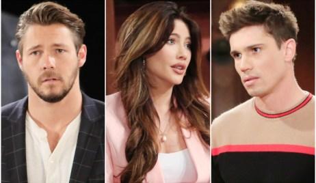 Liam, Steffy, Finn B&B