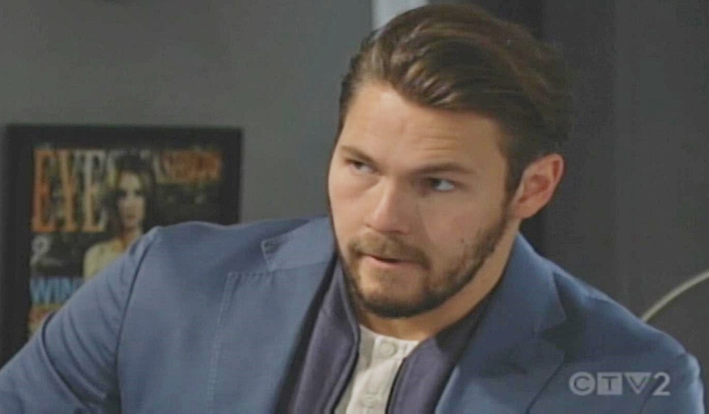 Liam opens up to Bill B&B