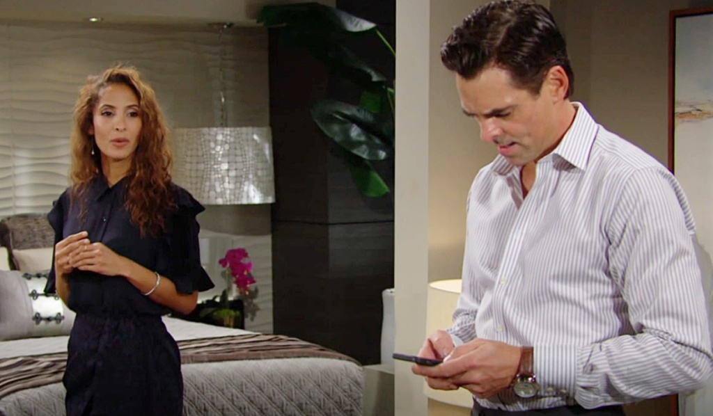 Lily, Billy new information Y&R