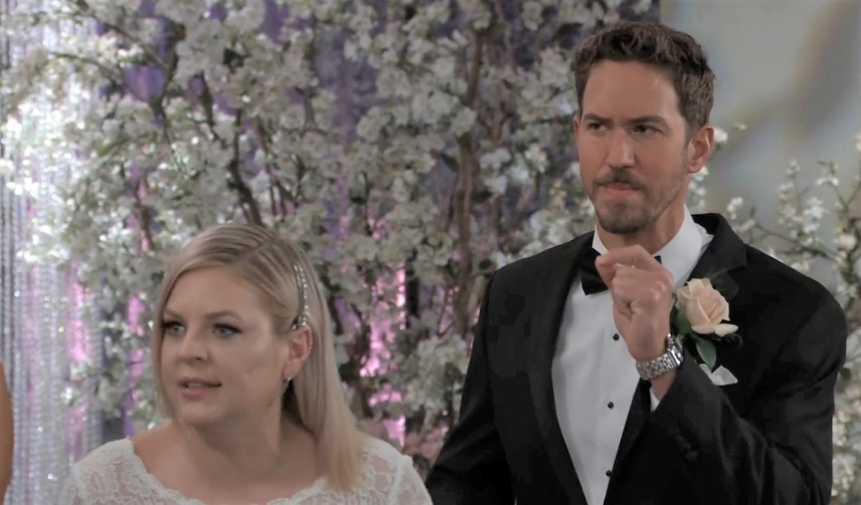 Maxie defends Peter at wedding General Hospital