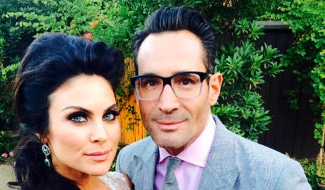 Gregory Zarian with Nadia Bjorlin Days of our Lives