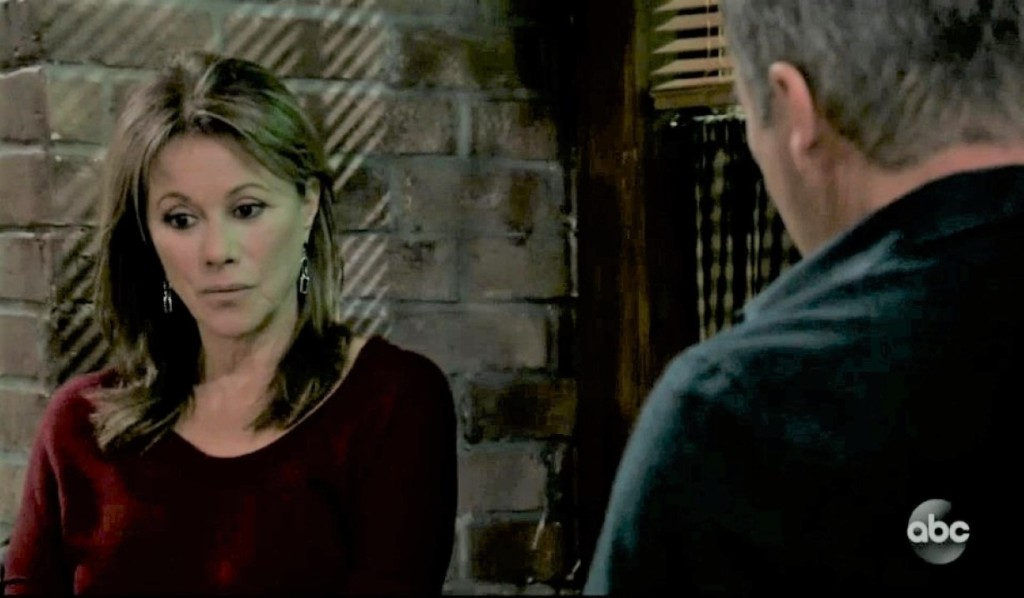 Ned and Alexis talk Neil at Kelly's General Hospital