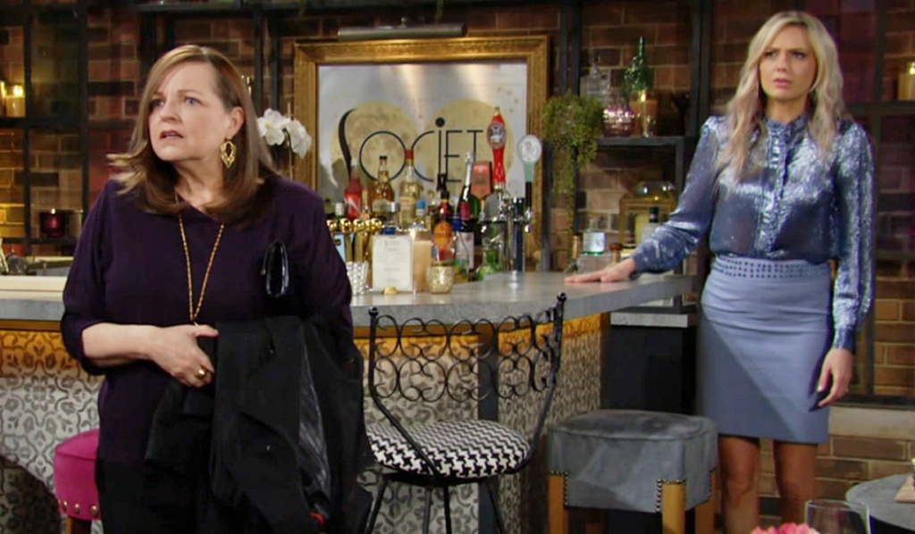 Nina, Abby hear bad news about Faith Y&R