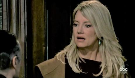 Nina is shocked to see Sonny at Tan-O General Hospital
