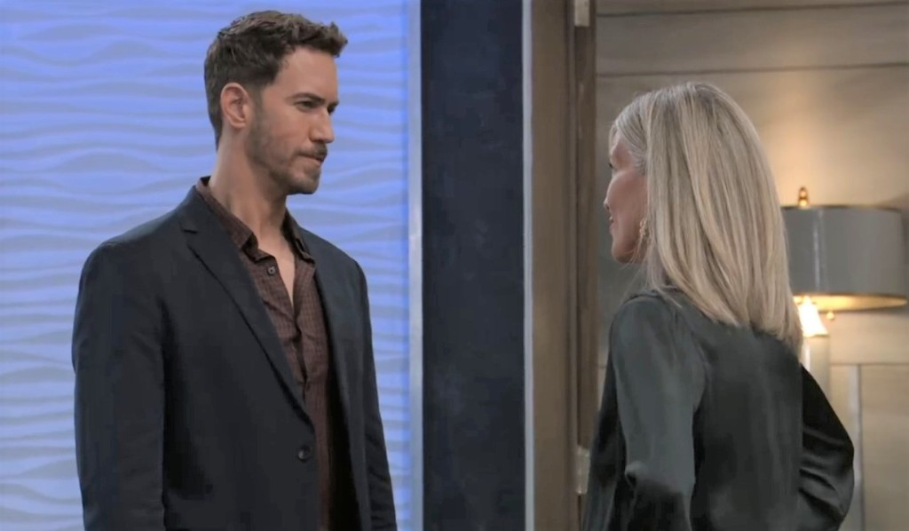 Peter asks Carly if she wants to pick a figth at Metro Court General Hospital