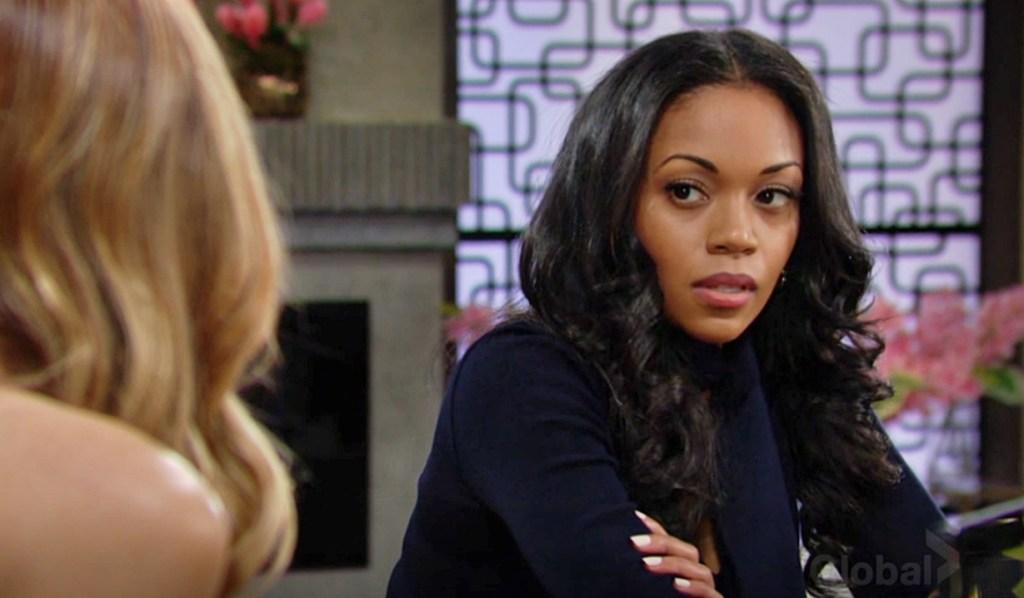 Phyllis, Amanda discuss Devon Y&R
