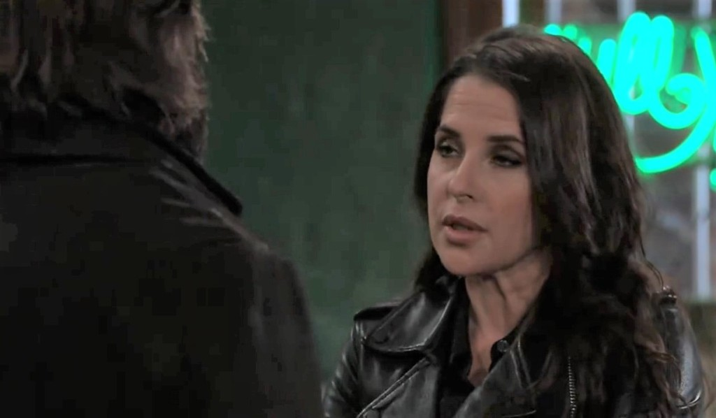 Dante and Sam talk Alexis' trial at Kelly's General Hospital