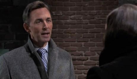 Brook Lynn tells Valentin pregant outside Kelly's General Hospital