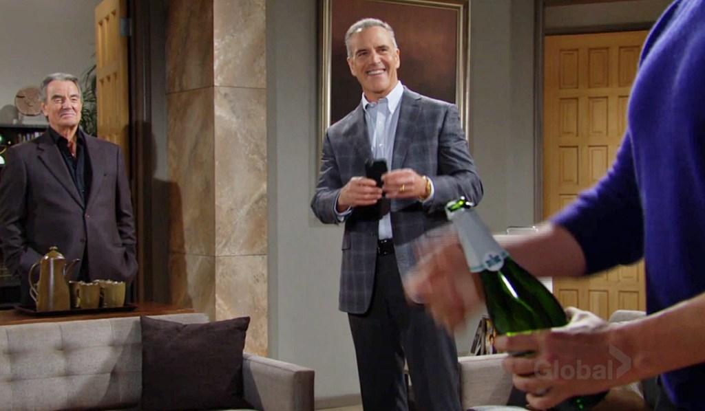 Victor, Ashland, Adam champagne Y&R