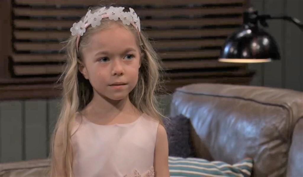 Violet gets a visitor at Chase's General Hospital