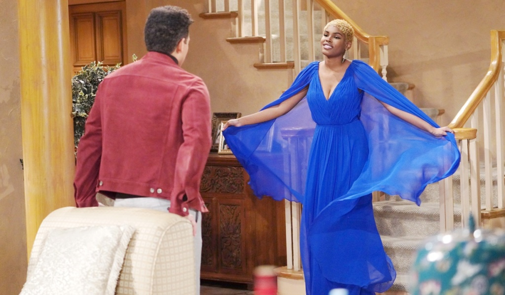 Zende surprise Paris gown B&B