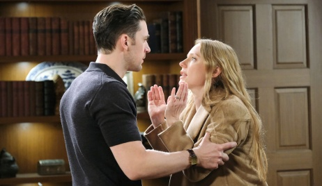 Abigail desperately explains to Chad on Days of Our Lives