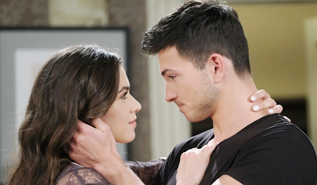 Ben and Ciara reunite on Days of Our Lives