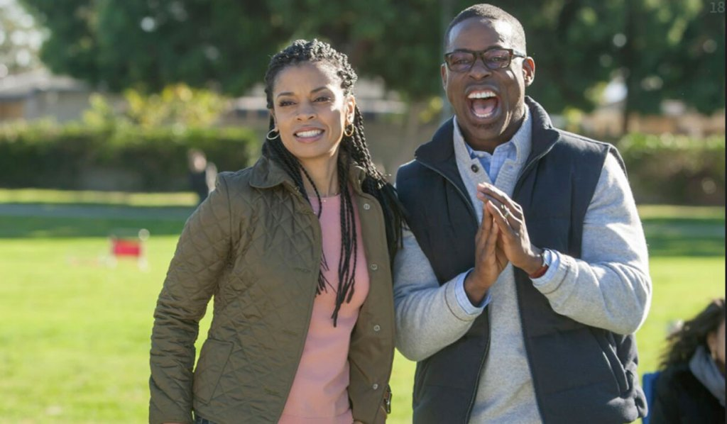 beth and randall cheer on daughters soccer this is us pilot