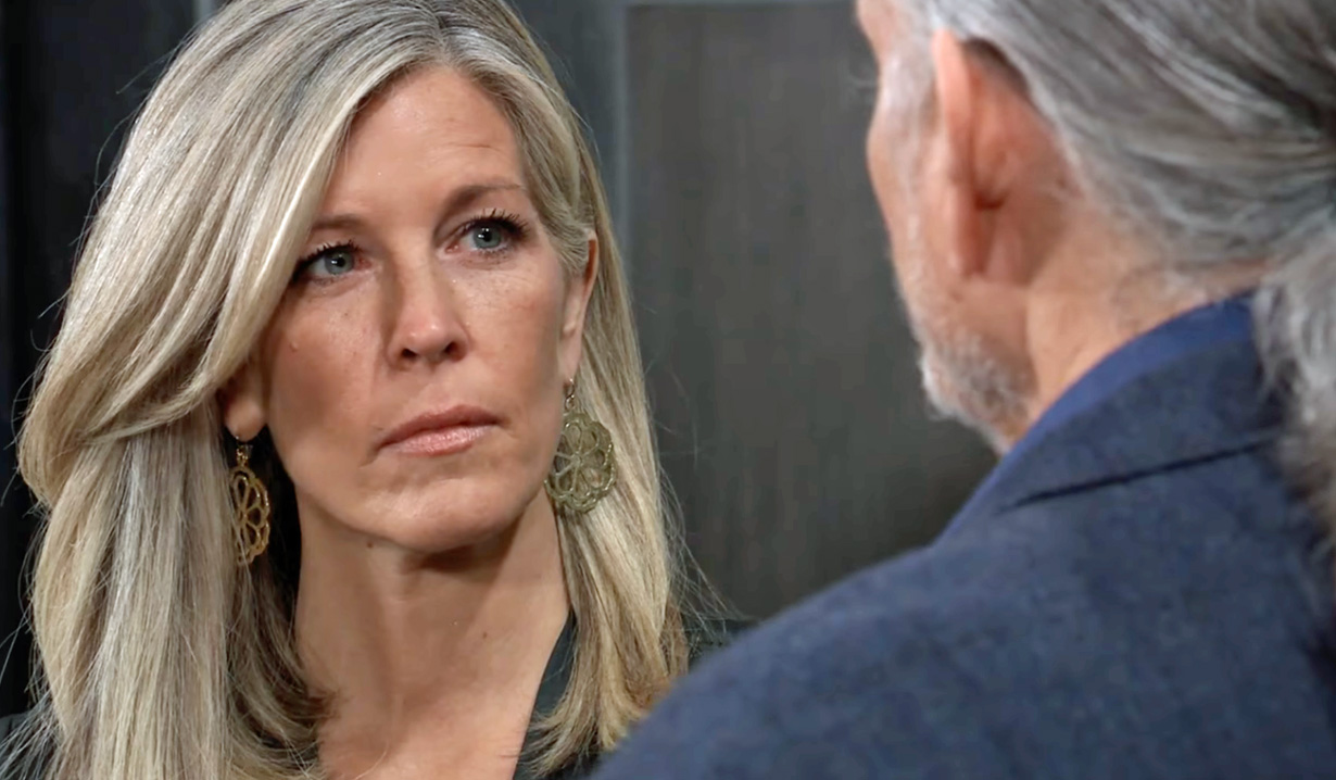 Carly meets with Cyrus GH