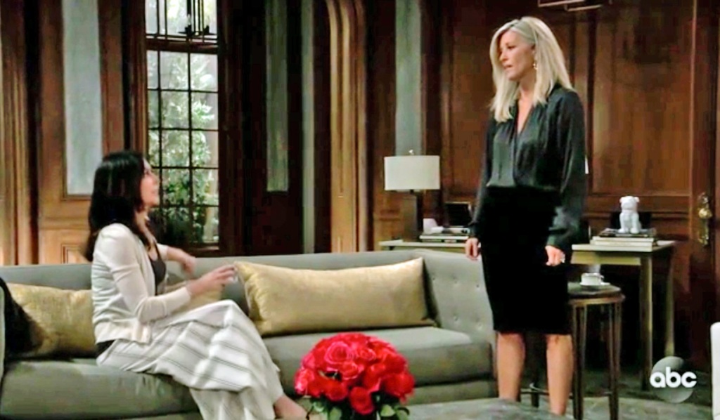 Carly asks for Anna's help GH