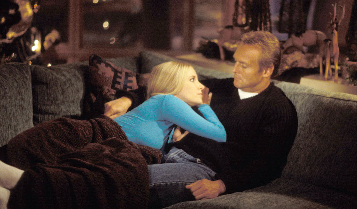 Lauralee Bell and Doug Davidson Young and Restless set CBS Studios 11/16/99 © John Paschal/JPI 310-657-9661 Episode #6781