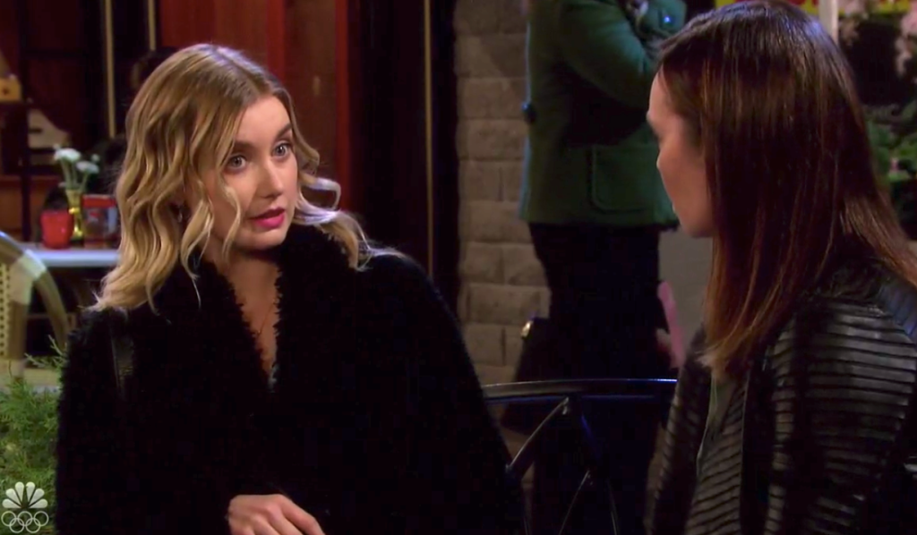 Claire rants at Gwen on Days of Our Lives