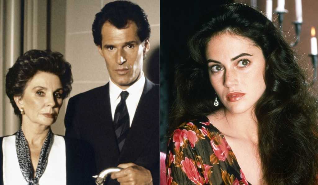 Jean Simmons, Ben Cross and Joana Going in Dark Shadows NBC