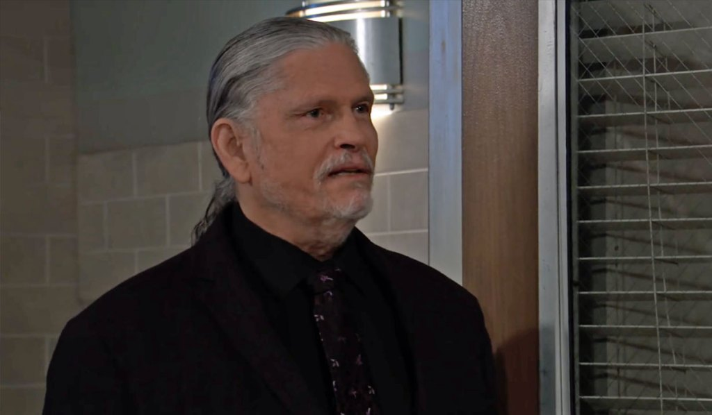 Cyrus is upset as usual on GH