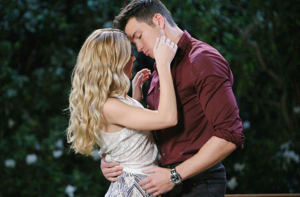 days ben Abigail kiss hw