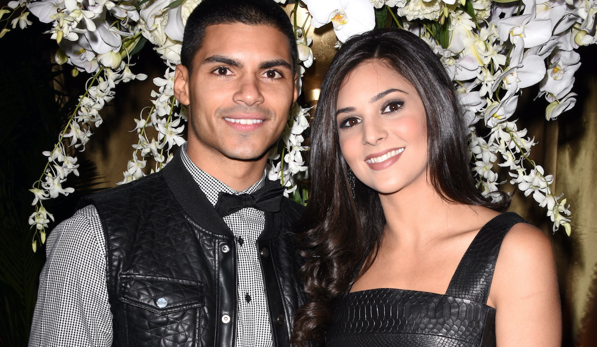 "Camila Banus, Marlon AquinoDAYS OF OUR LIVES 50th Anniversary Sands Through the Hourglass ""Cruise"" Celebration at the Hollywood Palladium in Los Angeles, CA on November 7, 201511/7/15 © Jill Johnson/jpistudios.com310-657-9661"