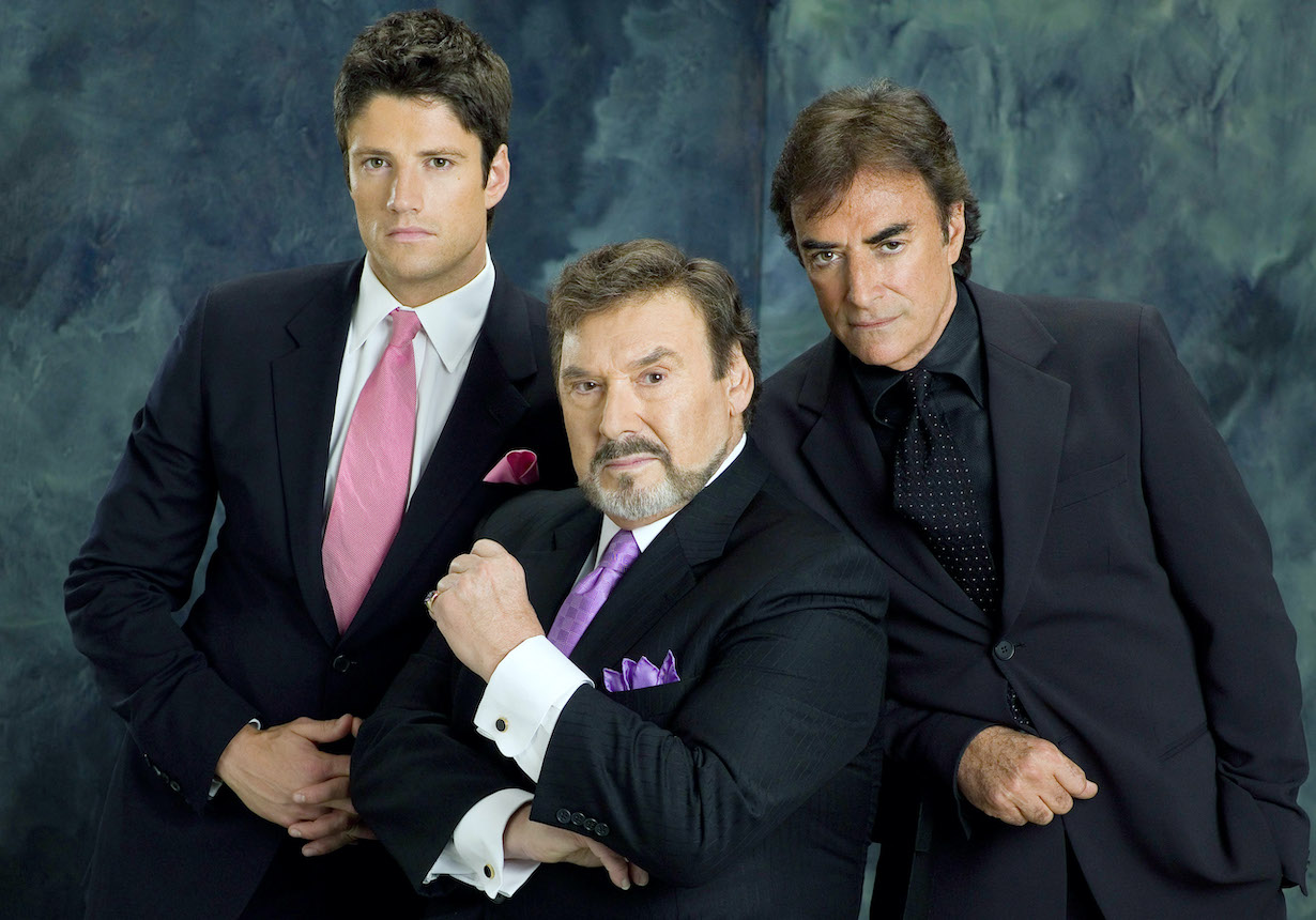 DAYS OF OUR LIVES, James Scott, Joseph Mascolo, Thaao Penghlis, ej tony stefano haaseth nbc ec