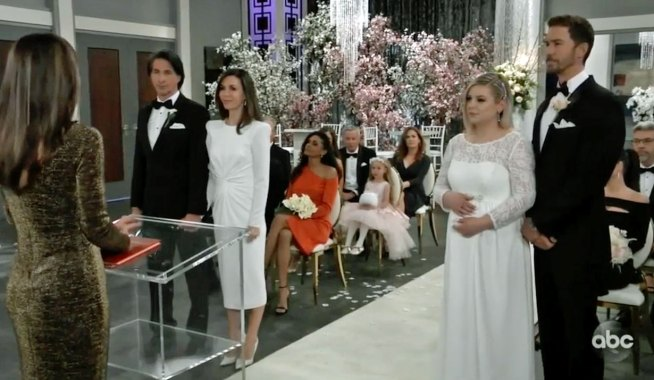 Double Wedding Stopped on GH
